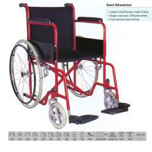Powder Coated Economice Cheap Wheelchair