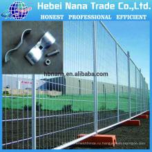 Не копать временный забор / подвижные ограждения / оцинкованная или с порошковым покрытием временный забор