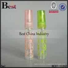 5мл мини декорированная бутылка с распылитель, многоразового флакон духов с распылитель, оптовая бутылки духов в Дубае