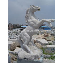Encantadora pedra cavalo escultura