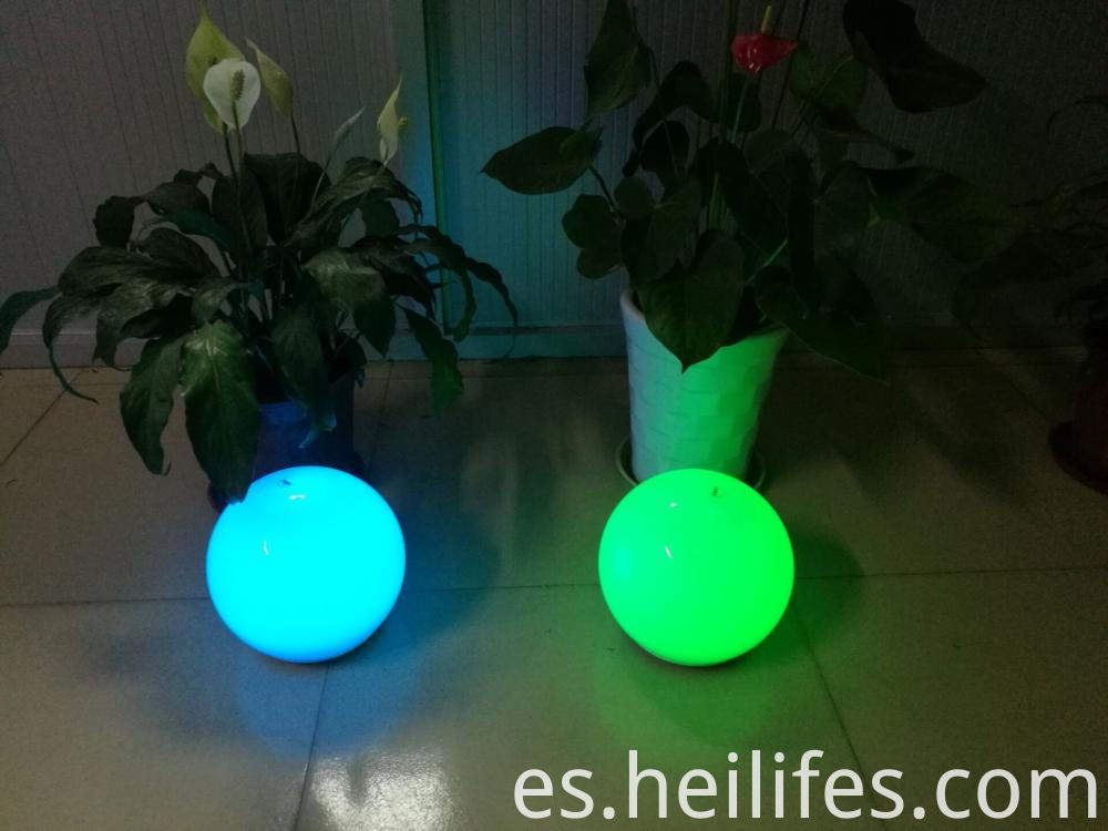 Rechargeable Illuminated Solar led ball light