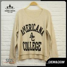 Suéter de Street Style de mujer de moda