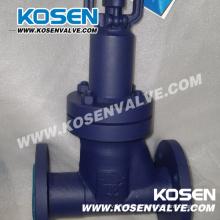Norma DIN fole de aço forjado selado válvulas de globo (WJ41)