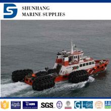 Defensa de parachoques marina del tope del barco de Yokohama del surtidor de China