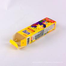 Boîte colorée d'emballage coloré de boîtes de papier d'emballage de sucrerie pour des enfants