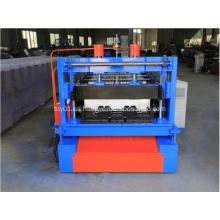 Máquina perfiladora de cubierta de metal de acero para piso de 845 mm
