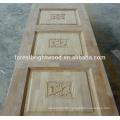 Red Oak Veneered Finished Indian Wood Carving Doors