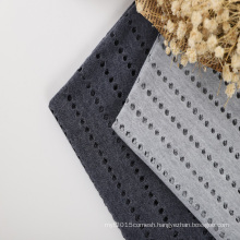 beach fabric polyester spandex mesh fabric hollowed out cover up mesh fabric for beach dress in summer