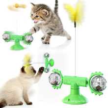 Shop new cat planet 360 degree rotating windmill funny cat stick cat toy