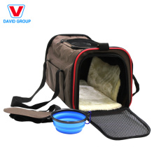 Wholesale Soft-Sided Cat Dog Comfort Foldable Travel Pet Carrier Bag