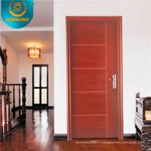 Porte d'entrée en bois coupe-feu