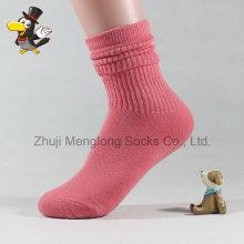 Geschichtete Manschette Lady Mode Baumwolle Socken