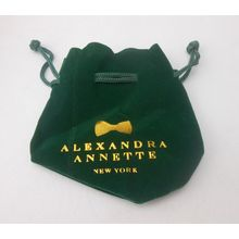 Small Flannelette Bag with Printing Logos (GZHY-DB-005)