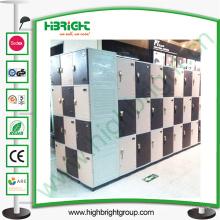 Système de casier en plastique avec la couleur différente disponible