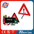 trousses d'urgence de voiture / triangle d'avertissement de voiture / shanghai jinshan