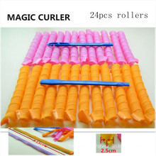 24 Extra Long Magic Spiral Curlformers (HEAD-42)