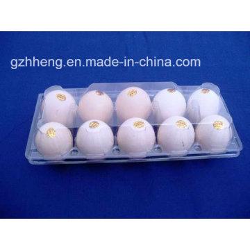 Супермаркет Clear Blister Пластиковая коробка для яиц (поднос для яиц из ПВХ)