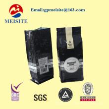 Pochettes à café à fermeture à glissière réinitialisées avec valve