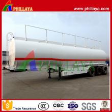 Tankwagen-Transport-chemischer flüssiger Behälter-Anhänger 50m3