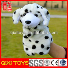 plush dog hand puppets for child dog hand puppets toy