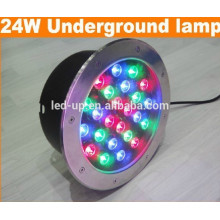 24w RGB led underground light with high lumens
