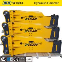 excavator mounted machine, hydraulic jackhammer, breaker hammer