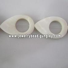 new fashion water drop shape fresh water shell beads