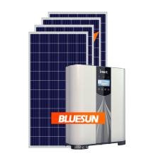 sistema de energía solar en el hogar paneles de la sistema solar cuadrícula atado sistema de energía solar 5kw hogar