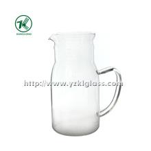 Bouteille de verre simple et simple en verre par SGS (KL140218-79)