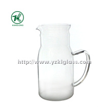 Clear Single Wall Glass Teapot by SGS (KL140218-79)