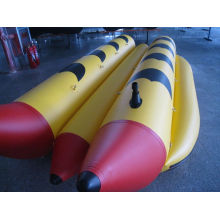 Aufblasbare 6 Person 2 Tubes Banana Boot
