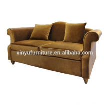 Warn living room Nordic solid wood modern sofa / simple cloth art sofa XYN508
