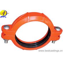 Raccords flexibles en fer ductile homologué UL & FM Couplage flexible