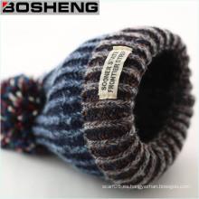 Unisex Gorra de punto de invierno con sombrero POM Ball