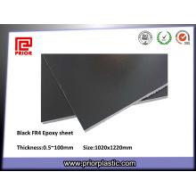 Fabricante negro del tablero de la fibra de vidrio de los semiconductores G10 / Fr4