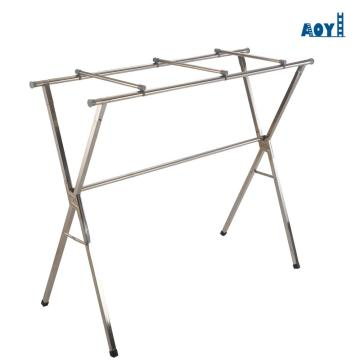 Folding+stainless+steel+laundry+rack