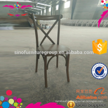 cane seat cross back dining chair for wholesale