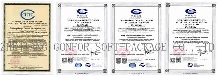 GONFOR ISO22000