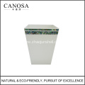 Star Hotels Abalone Shell Trash Can for Wholesale
