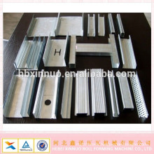 hebei xinnuo product Omega type metal stud and track plaster board steal studs machines