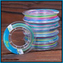 Bunte hohe Grad PE Linie 100PCS / Rolle (10m eine Farbe)