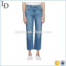 Blue Flip Open classic stonewash Jeans skinny blue fashion jeans