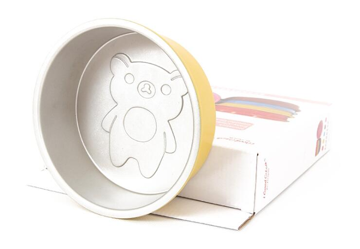 6 Inch Cartoon Bear Round Cake Mould 5