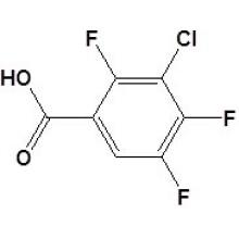 Ácido 3-cloro-2, 4, 5-trifluorobenzóico N ° 101513-77-3