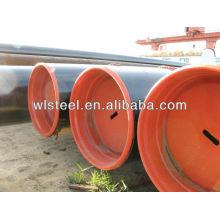 api 5l x52 / x42 / gr.b fabricante de tubos de acero al carbono de 8 pulgadas