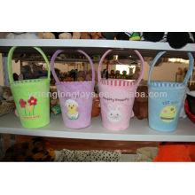 Lovely Home Practical Tidy Niños flor cubo de felpa en Stock