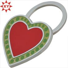 Chaînes principales personnalisées Rad et vertes en forme de coeur