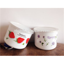 China Supplier Enamel high ice bowl set