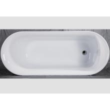 Anti-Rutsch-einfache gemeinsame freistehende Acryl-Badewanne