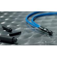 Accessoire de câble d'alimentation électrique Capuchon d'étanchéité thermorétractable